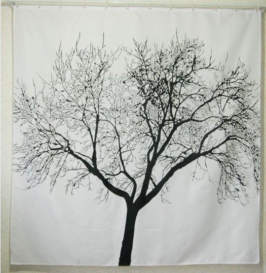 landscape big tree fabric shower curtain a3011 ebay