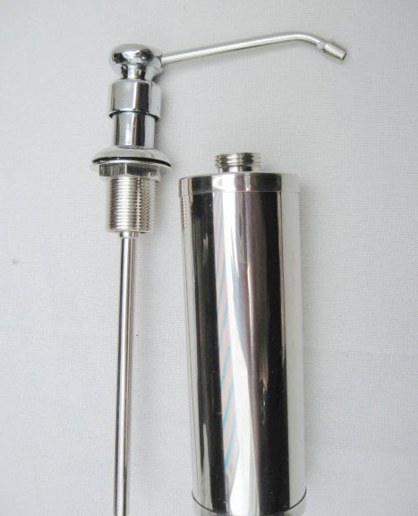 luxury stainless steel soap dispenser for kitchen sink ebay