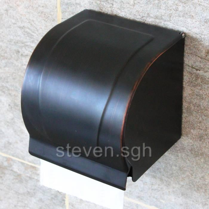 free shipping bathroom vintage oil rubbed bronze toilet roll paper holder k820 ebay. Black Bedroom Furniture Sets. Home Design Ideas