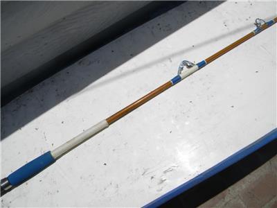 Golden sabre 1766c 6 1 2 ft roller tip big game for Golden fishing rod