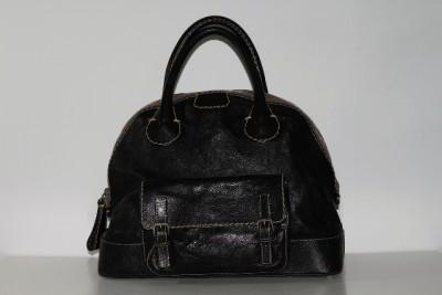 Authentic CHLOE Edith Large Leather Satchel Bag
