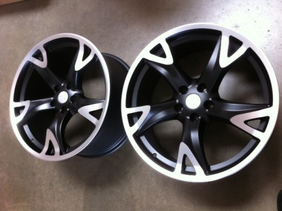 """20"""" Nissan 370Z Style Wheels Rims Nissan 350Z 370Z and Inifiniti G35 Coupe"""