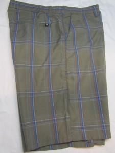 Mens new Hurley shorts size 32 34 36 38 Puerto Rico rock brown plaid