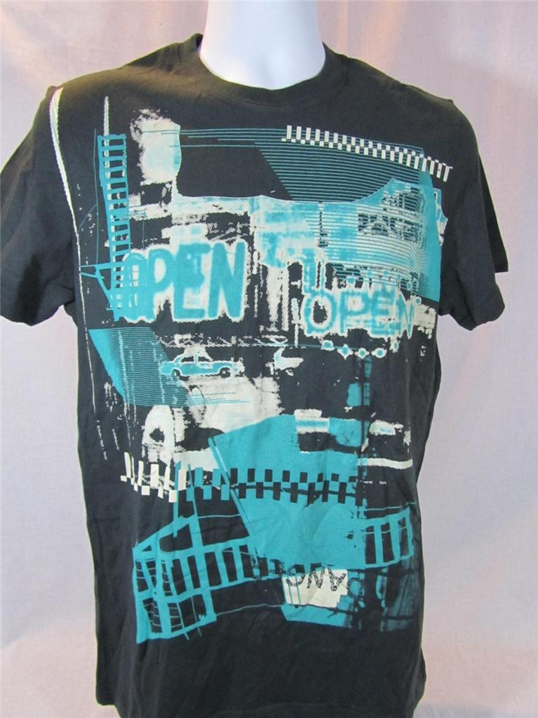Mens new marc ecko cut sew shirt size small open for biz for Marc ecko dress shirts