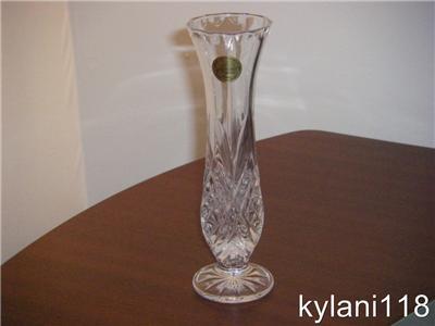 cristal d 39 arques masquerade vase 7 imported france ebay. Black Bedroom Furniture Sets. Home Design Ideas