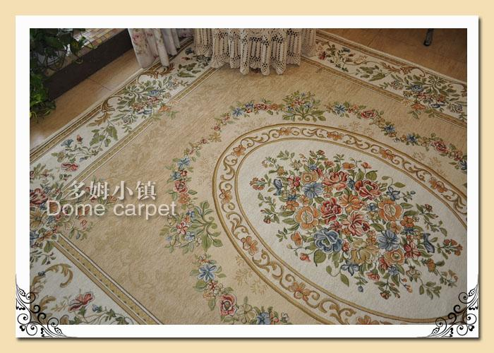 French Country Victorian Traditional Classic Floral Cream