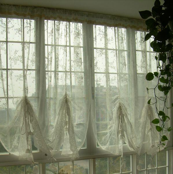 Cost Plus Shower Curtain Country Sheer Lace Curtains