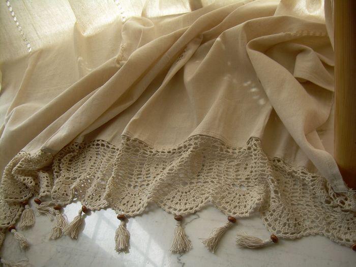 Curtains Ideas cheap lace curtain panels : Cotton Lace Curtain Panels - Curtains Design Gallery