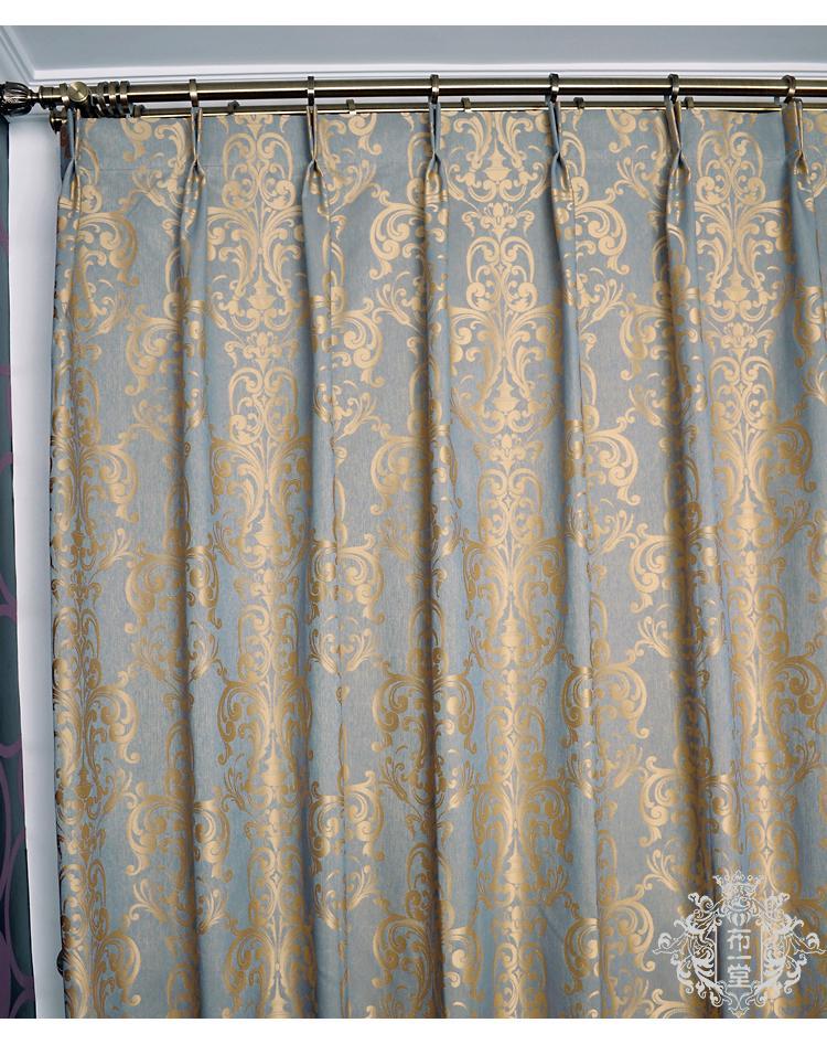 Custom made modern jacquard window curtain panel 010 ebay for Custom made window curtains