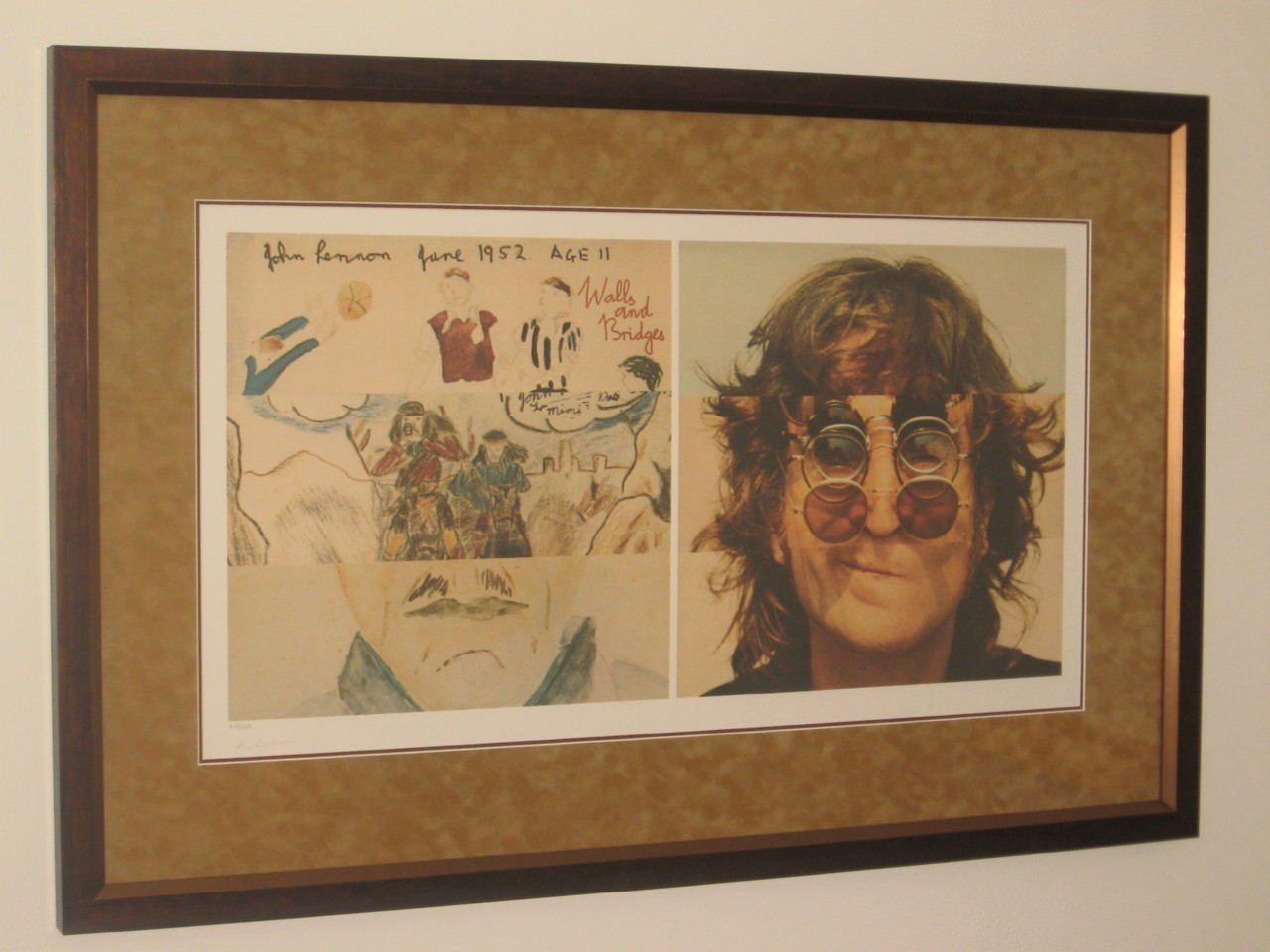 THE-BEATLES-JOHN-LENNON-WALLS-AND-BRIDGES-LITHOGRAPH