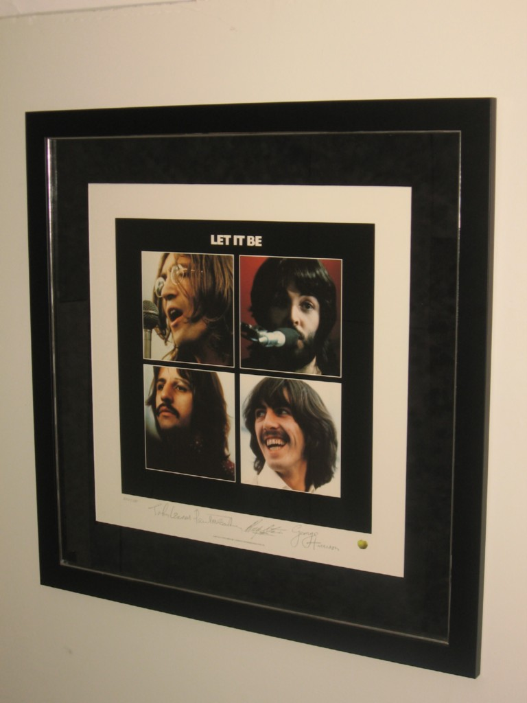 THE-BEATLES-LET-IT-BE-P-SIGNED-CUSTOM-FRAMED-LITHOGRAPH