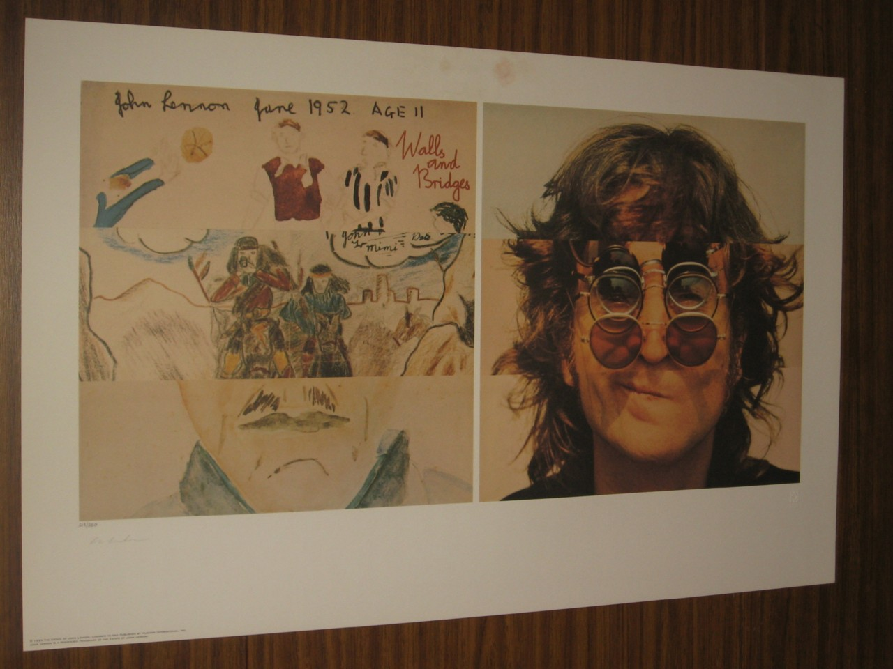 THE-BEATLES-YOKO-ONO-SIGNED-JOHN-LENNON-WALLS-AND-BRIDGES-LITHOGRAPH