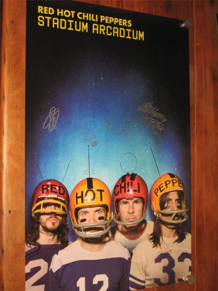 RED HOT Chili Peppers Stadium Arcadium Fully Signed 2006 ...
