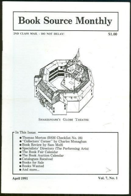 HUCKANS, JOHN - Book Source Monthly Magazine April 1991
