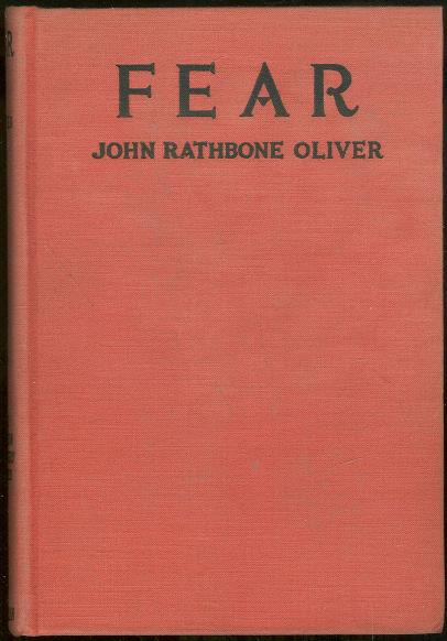 FEAR The Autobiography of James Edwards, Oliver, John Rathbone