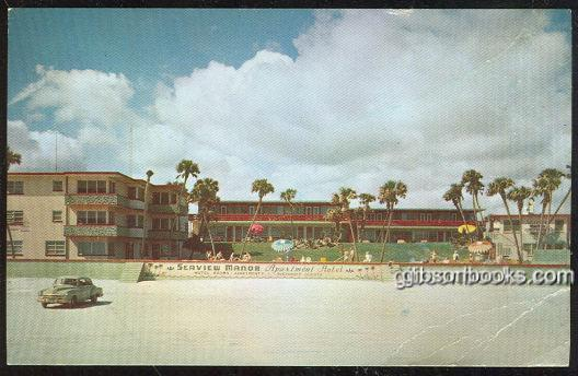 SEAVIEW MANOR, DAYTONA BEACH, FLORIDA, Postcard