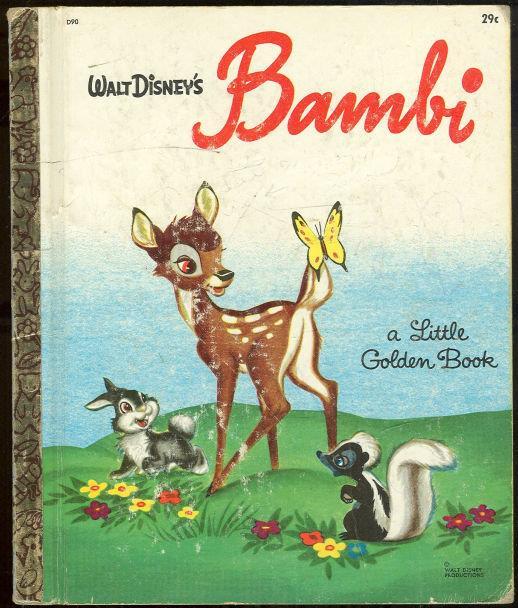 WALT DISNEY'S BAMBI, Salten, Felix