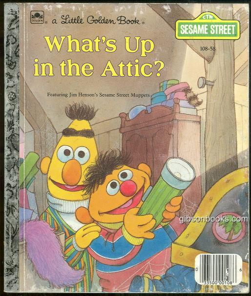 WHAT'S UP IN THE ATTIC Featuring Jim Henson's Sesame Street Muppets, Alexander, Liza