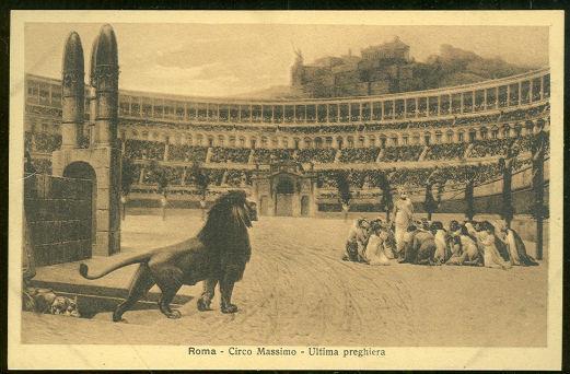 ROMA, ITALY CIRCO MASSIMO ULTIMA PREGHIERA, Postcard