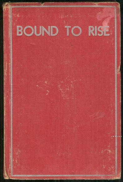 BOUND TO RISE The Story of a Country Boy, Alger, Horatio