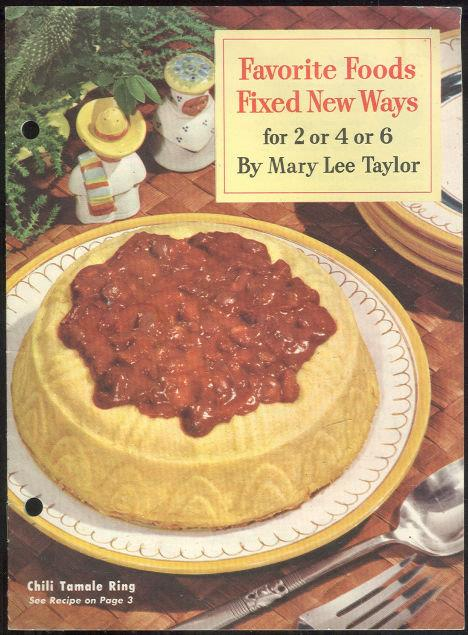 FAVORITE FOODS FIXED NEW WAYS For 2 or 4 or 6, Taylor, Mary Lee