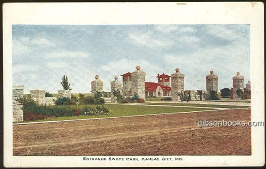 ENTRANCE SWOPE PARK, KANSAS CITY, MISSOURI, Postcard