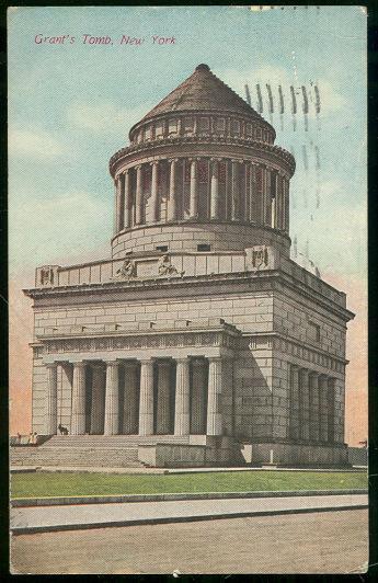 GRANT'S TOMB, NEW YORK CITY, NEW YORK, Postcard