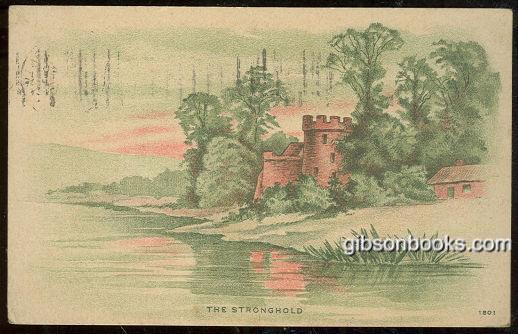 CASTLE ALONG RIVER, THE STRONGHOLD, Postcard