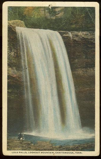 LULU FALLS, CHATTANOOGA, TENNESSEE, Postcard