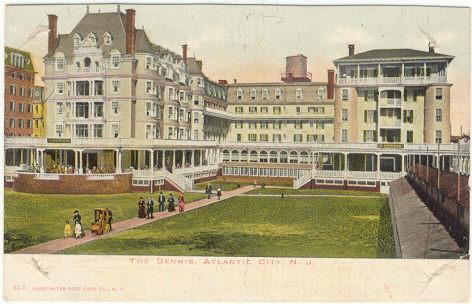 DENNIS, ATLANTIC CITY, NEW JERSEY, Postcard
