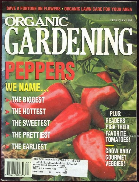 ORGANIC GARDENING MAGAZINE FEBRUARY 1997, Rodale Press