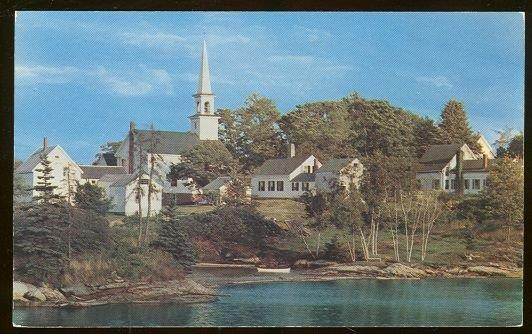 OLD MILL COVE, BOOTHBAY AREA, MAINE, Postcard