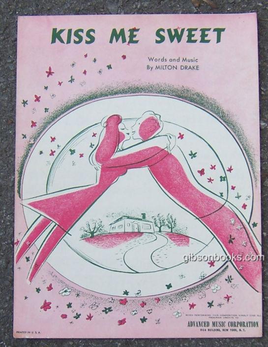 KISS ME SWEET, Sheet Music