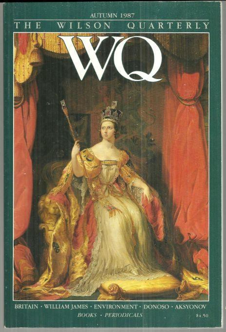 WILSON QUARTERLY AUTUMN 1987, Wilson Quarterly