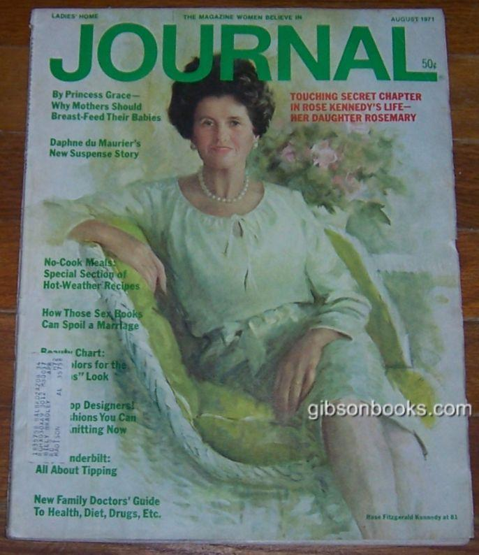 LADIES HOME JOURNAL MAGAZINE AUGUST 1971 The Magazine Women Believe In, Ladies Home Journal