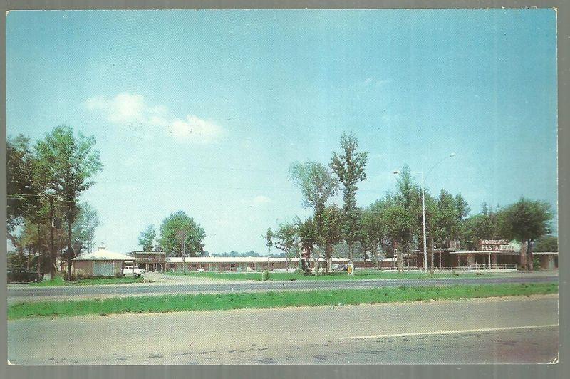 CHARRON MOTEL, HUNTSVILLE, ALABAMA, Postcard