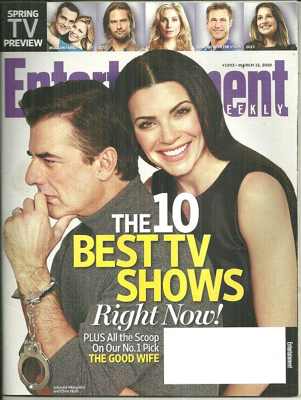 ENTERTAINMENT WEEKLY MAGAZINE MARCH 12, 2010, Entertainment Weekly