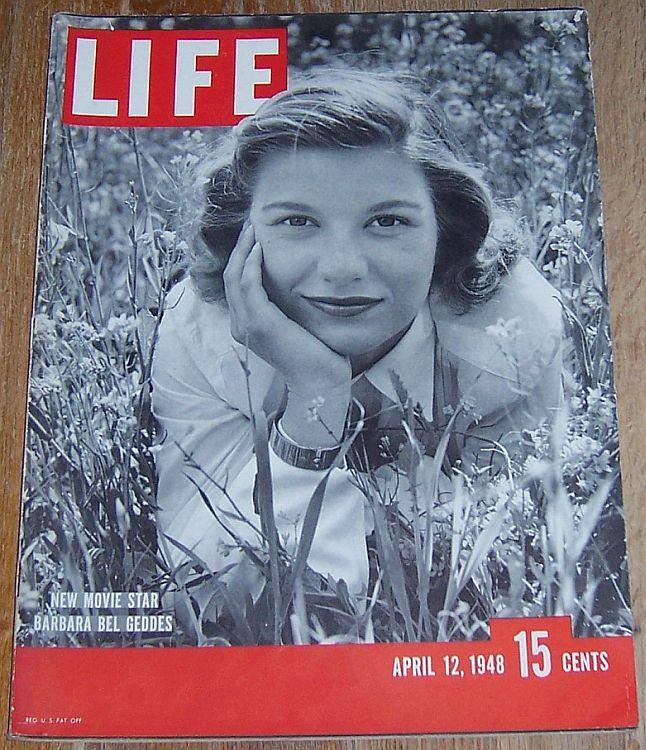 LIFE MAGAZINE APRIL 12, 1948, Life Magazine