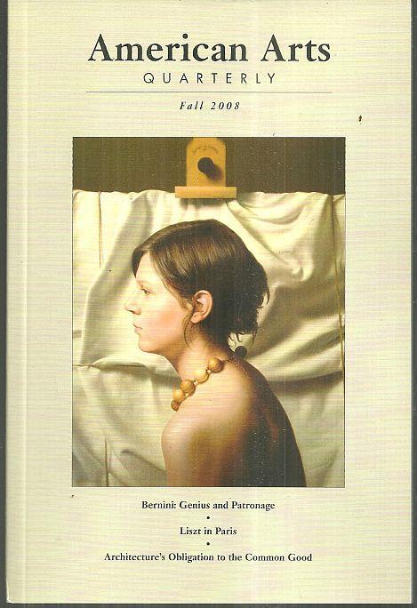 AMERICAN ARTS QUARTERLY FALL 2008, American Arts