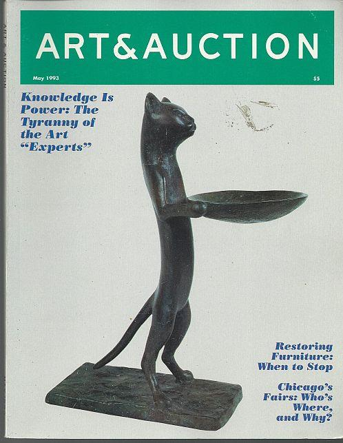 ART AND AUCTION MAGAZINE MAY 1993, Art and Auction