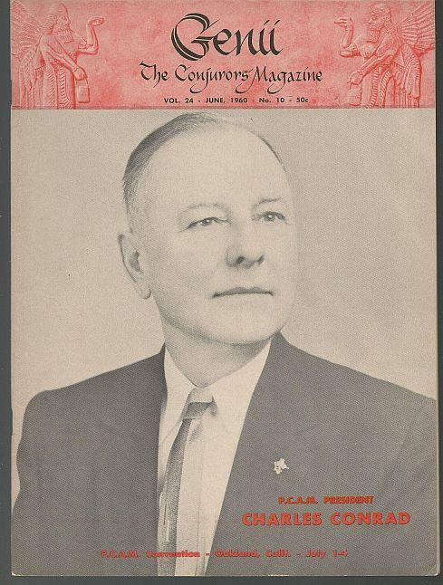 GENII THE CONJURORS' MAGAZINE JUNE 1960, Genii Magazine