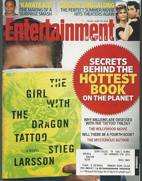 ENTERTAINMENT WEEKLY MAGAZINE JUNE 25, 2010, Entertainment Weekly