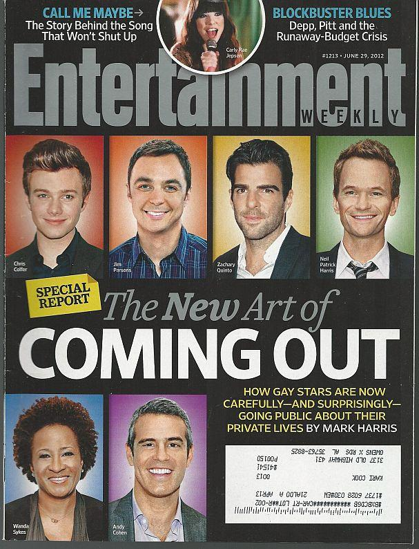 ENTERTAINMENT WEEKLY MAGAZINE JUNE 29, 2012, Entertainment Weekly