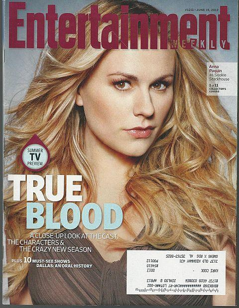 ENTERTAINMENT WEEKLY MAGAZINE JUNE 15, 2012, Entertainment Weekly