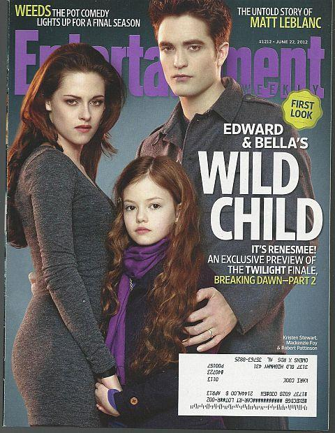 ENTERTAINMENT WEEKLY MAGAZINE JUNE 22, 2012, Entertainment Weekly