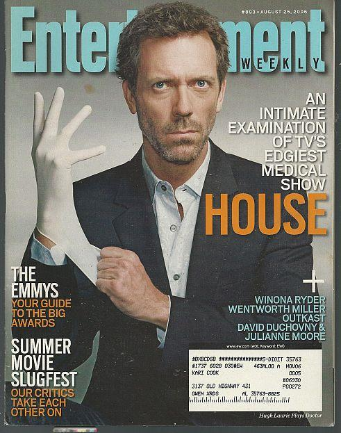 ENTERTAINMENT WEEKLY MAGAZINE AUGUST 25, 2006, Entertainment Weekly