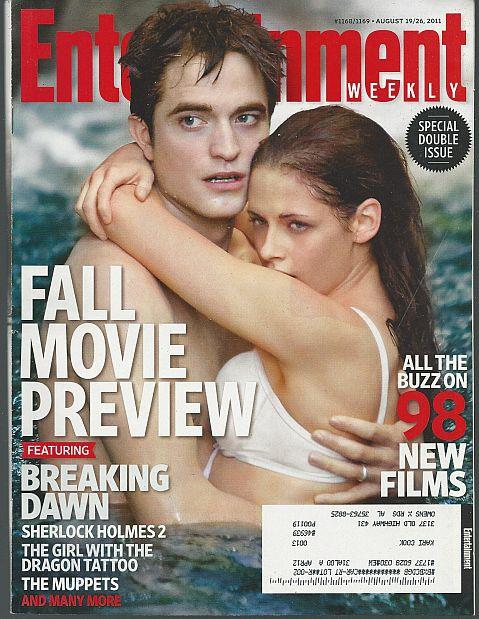 ENTERTAINMENT WEEKLY MAGAZINE AUGUST 19/26, 2011 Special Double Issue, Entertainment Weekly