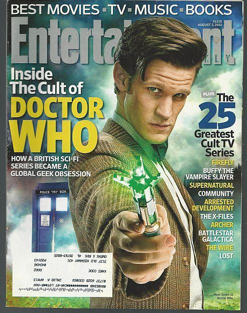ENTERTAINMENT WEEKLY MAGAZINE AUGUST 3, 2012, Entertainment Weekly