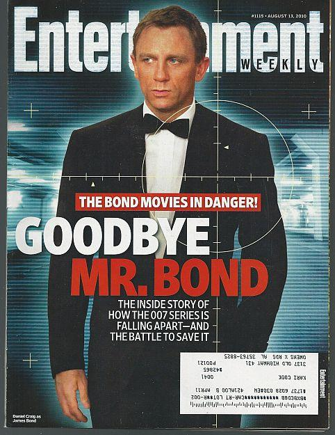ENTERTAINMENT WEEKLY MAGAZINE AUGUST 13, 2010, Entertainment Weekly