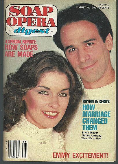 SOAP OPERA DIGEST - Soap Opera Digest August 31, 1982